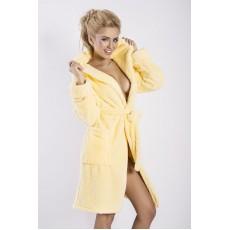Халат махровий жовтий Diana DKaren